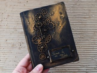 jurnal handmade steampunk
